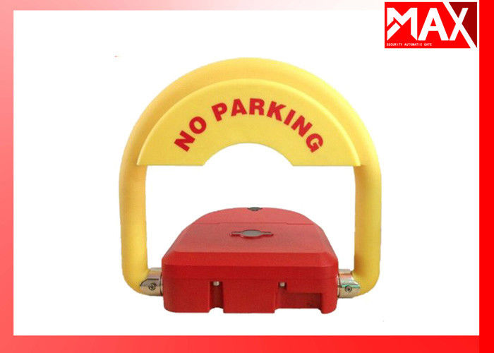 Automatic Car Parking  Locks IP68 Waterproof  Red Color  with Battery 2 Remote Control